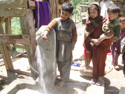 Pakistan water work