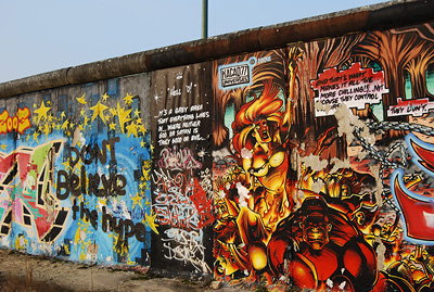 Berlin Wall, by Lucy Morris