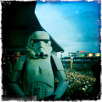 Minor league stormtrooper