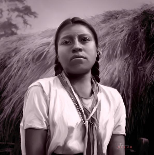 Zinacantan Woman by Joaquin Ramon Herrera