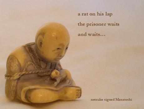 Prisoner (netsuke) by Elizabeth Bodien
