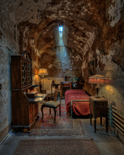 Al Capone's Cell by Don Schroder